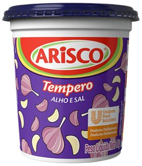 Tempero Completo Alho e Sal Arisco 1 kg -