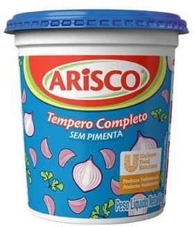 Tempero Completo sem Pimenta Arisco 1kg -