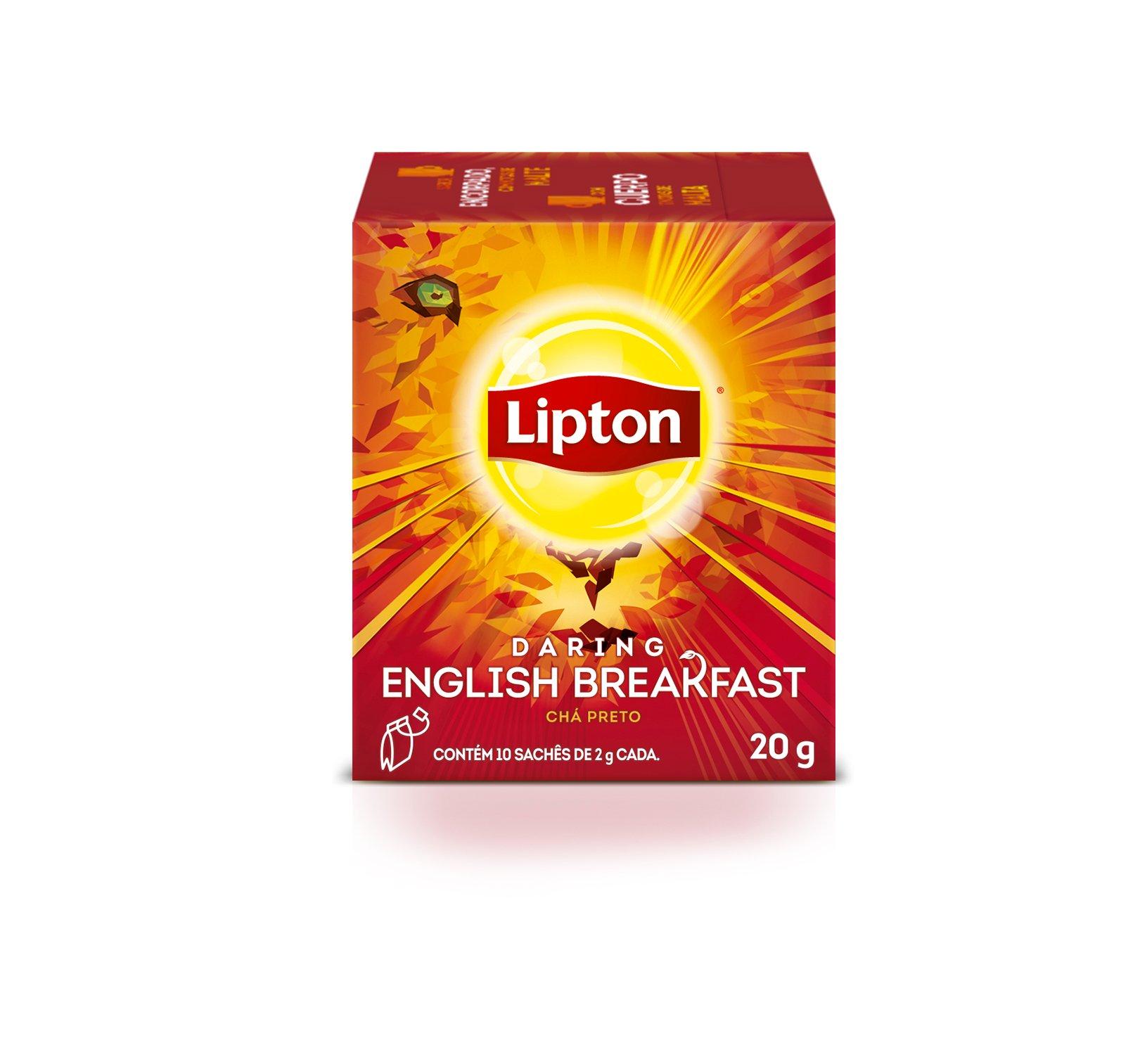 Chá Preto Lipton - English Breakfast -