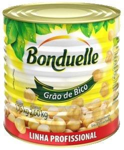 Grão de Bico em Conserva Profissional Bonduelle 1,75 kg -
