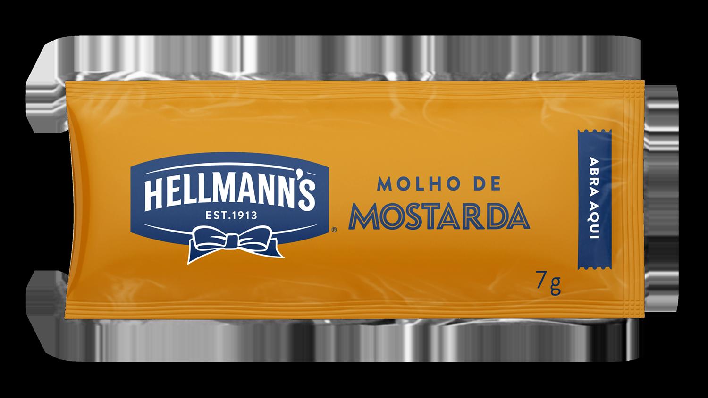 Mostarda Hellmann's - Sachê 7 g - Mostarda Hellmann's - Sachê