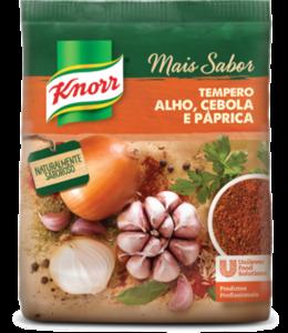 Tempero Mais Sabor Paprica Knorr 470 g - Novos temperos Knorr: combinações exclusivas para pratos ainda mais saborosos.