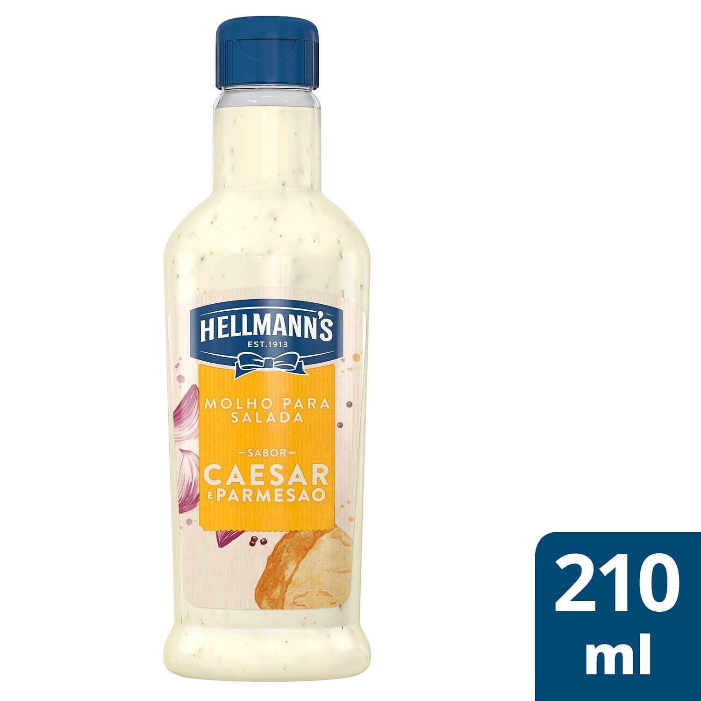 Molho para Salada Hellmann's Caesar e Parmesão 210 ml