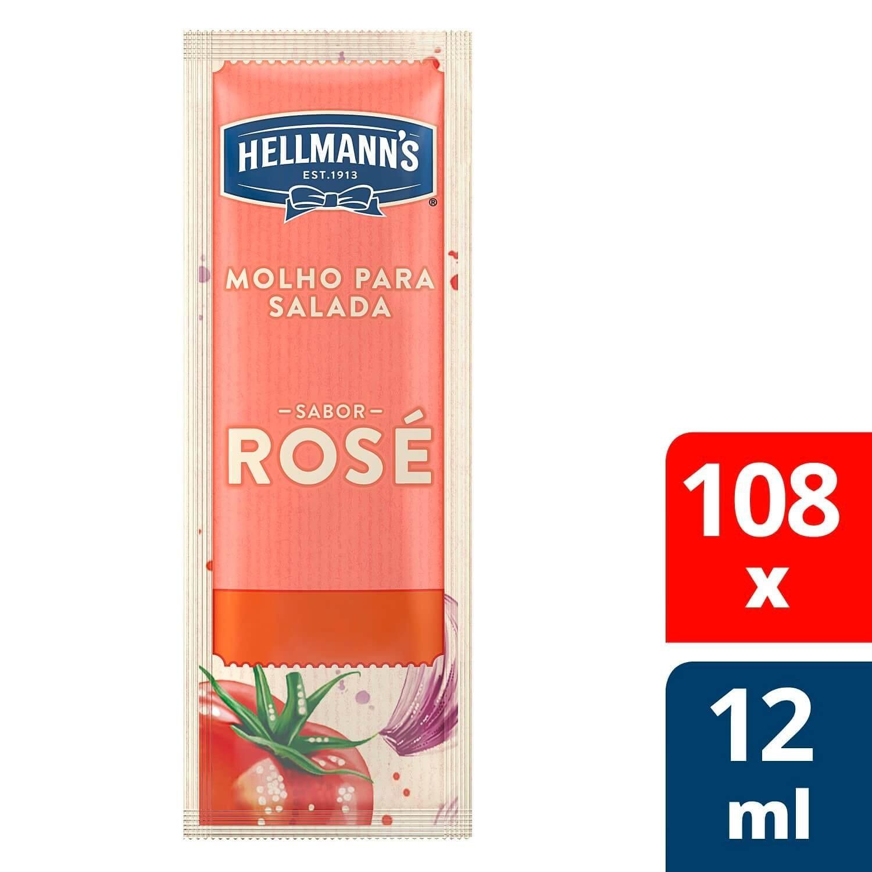 Molho para Salada Hellmann's Rosé 12 ml