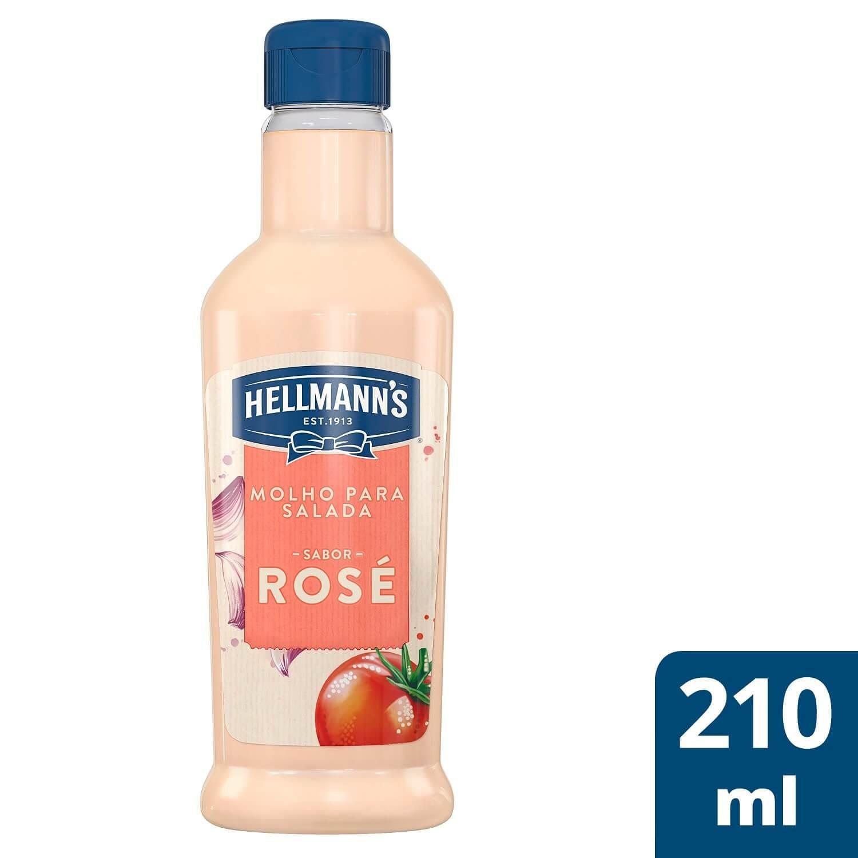 Molho para Salada Hellmann's Rosé 210 ml -