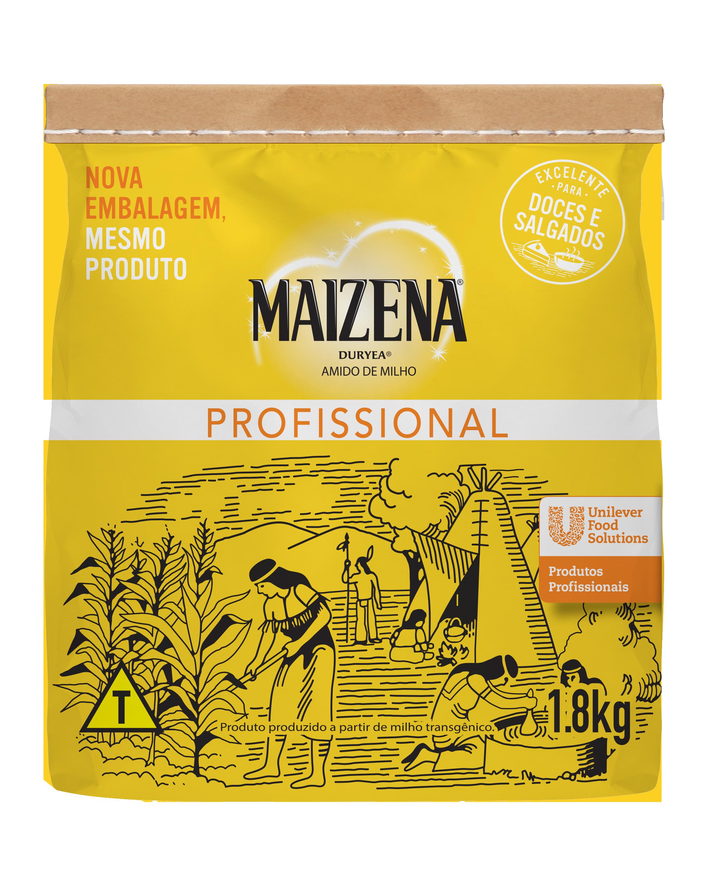 Amido de Milho Maizena 1,8 kg